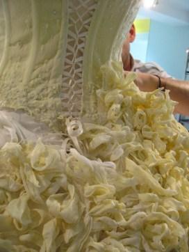 Rococo csokoládé menyasszonyi ruha 2 / Rococo chocolate wedding dress 2 Forrás:http://blog.rococochocolates.com