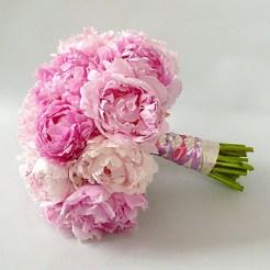 Tavaszi bazsarózsa menyasszonyi csokor 4 / Spring peony bridal bouquet 4 Forrás:bridalclarity.com