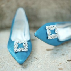 Türkiz cipő / Turquoise shoes Forrás:http://sbchic.com