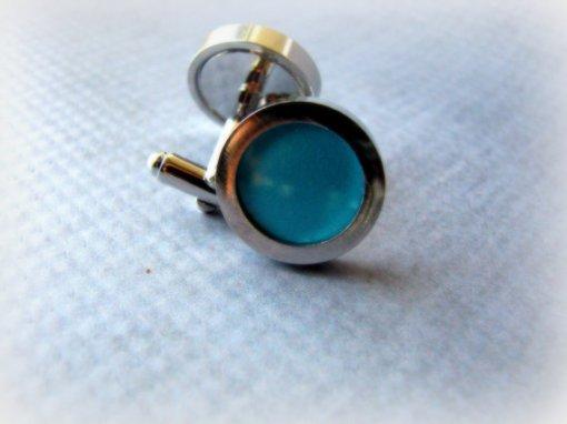 Türkiz dmandzsetta , Turquoise cufflinks Forrás:http://www.etsy.com