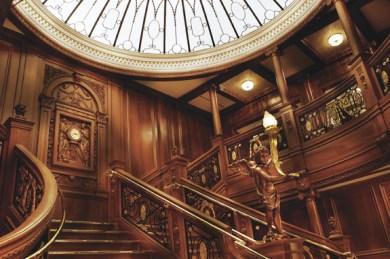 Titanic főlépcső 2/ Titanic Grand staircase 2