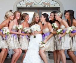 Csillogó koszorúslány ruha , Glitter bridesmaids dress Forrás:http://www.whiteme.net/