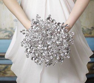 Téli menyasszonyi csokor 4 ,Winter wedding bouquets 4 Forrás:http://www.etsy