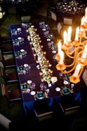 Tengerészkékesküvői dekoráció , Navy wedding decoration Forrás:http://francoiseweeks.com