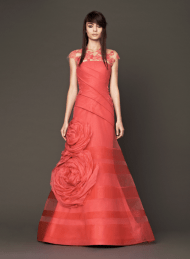 Vera Wang 2014 Fall Pink bridal collection 10 Forrás:http://www.verawang.com