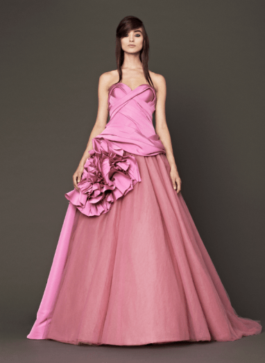 Vera Wang 2014 Fall Pink bridal collection 12 Forrás:http://www.verawang.com