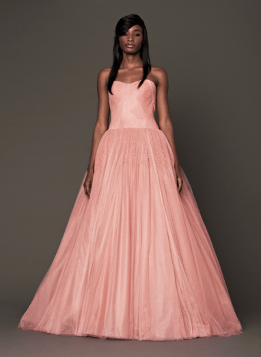 Vera Wang 2014 Fall Pink bridal collection 7 Forrás:http://www.verawang.com