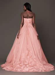 Vera Wang 2014 Fall Pink bridal collection 7a Forrás:http://www.verawang.com