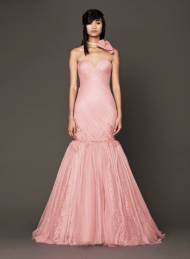 Vera Wang 2014 Fall Pink bridal collection 6 Forrás:http://www.verawang.com