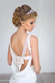 Fonott menyasszonyi frizura 14, Bridal hair braids 14 Forrás:www.elstile.ru