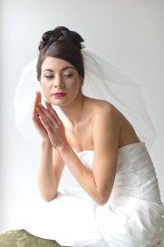 Menyasszonyi frizura buborék fátyollal 19 , Bridal hairstyles with bubble veil 19 Forrás:http://www.etsy.com