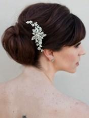 Menyasszonyi frizura ,hosszú barna hajból 7 Bridal long brown hair 7 http://www.haircomesthebride.com