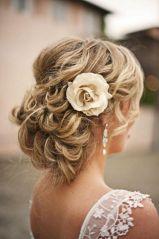 Menyasszonyi frizura ,hosszú szőke hajból 10, Bridal long blonde hair 10 Forrás:http://foto-pricheski.ru