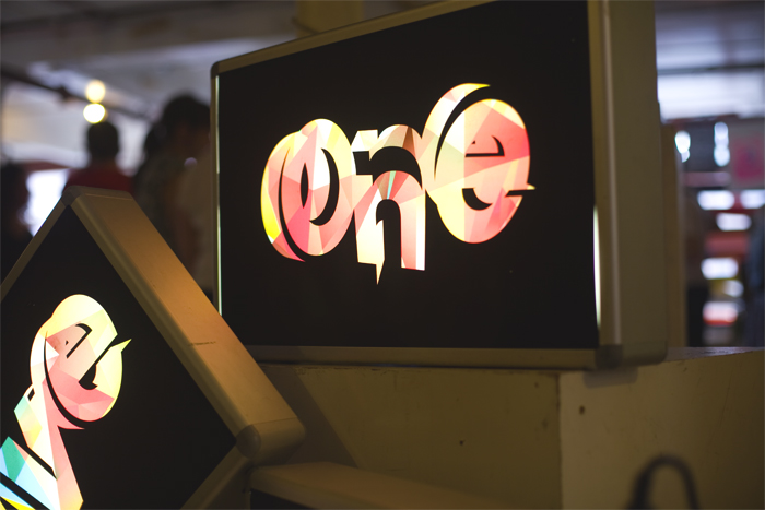 one five eight light box transparency