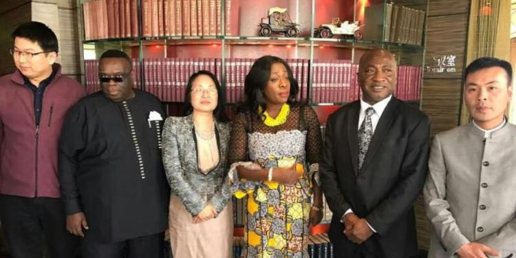 Hon. Catherine Afeku Market Ghana's Travel & Tourism Industry In China