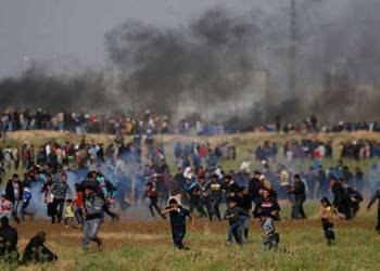 Clashes erupt along Gaza-Israel border ahead of US embassy inauguration