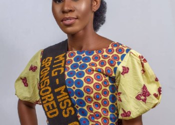 Benedicta Adjei represents Ghana at Miss International