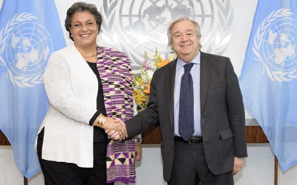 Hanna Tetteh will head the United Nations Office to the African Union in Addis Ababa