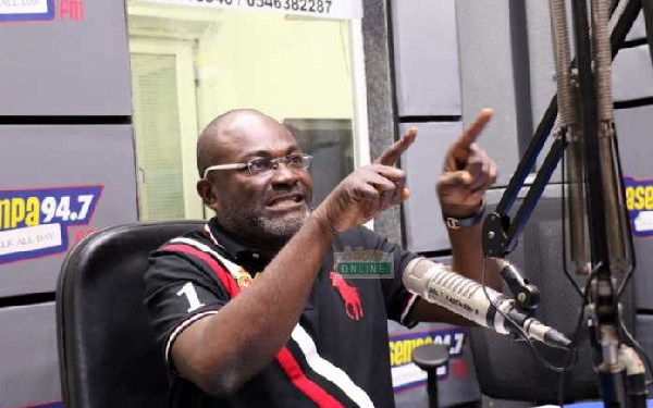 Shut up and pay the GHC 420,000 filing fees – Ken Agyapong fires Bagbin and others