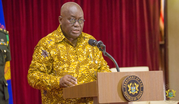 I prefer flying drones to flying guinea fowls – Akufo-Addo