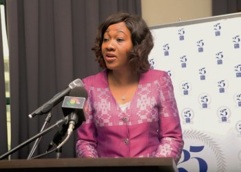 Chairperson of the Electoral Commission, Mrs Jean Mensah