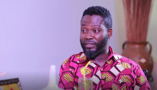 Actor Adjetey Anang aka Pusher