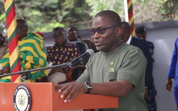 A presidential staffer and Secretary to the Inter-Ministerial Committee on Illegal Mining (IMCIM), Mr. Charles Cromwell Bissue