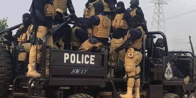 The masked men seen during the Ayawaso West-Wuogon By-Election