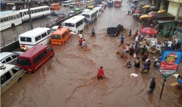 Flooding at Kaneshie
