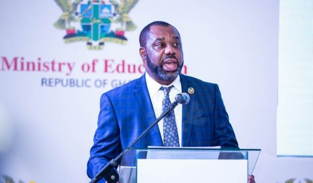 Dr. Matthew Opoku Prempeh, Minister of Education