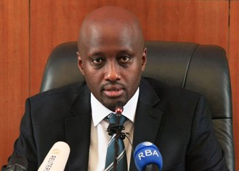 Amb Olivier Nduhungirehe. He as been dropped from cabinet as the country's minister of State in charge of the East African Community. PHOTO   RWANDA MFA
