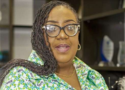 CEO of the National Health Insurance Authority (NHIA), Dr Lydia Dsane-Selby