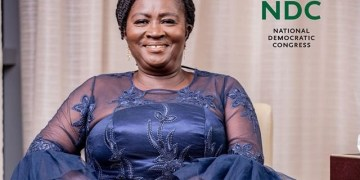 Former Education Minister and NDC Presidential Running Mate, Professor Jane Naana Opoku Agyemang