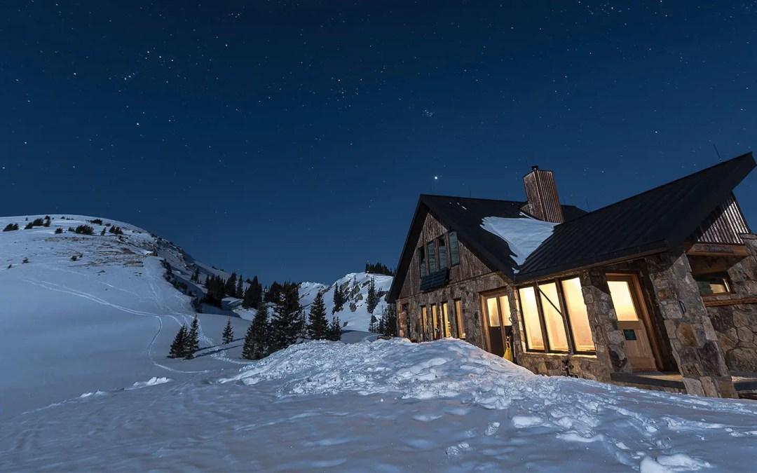 The Fowler-Hilliard Hut Outside Camp Hale, Colorado