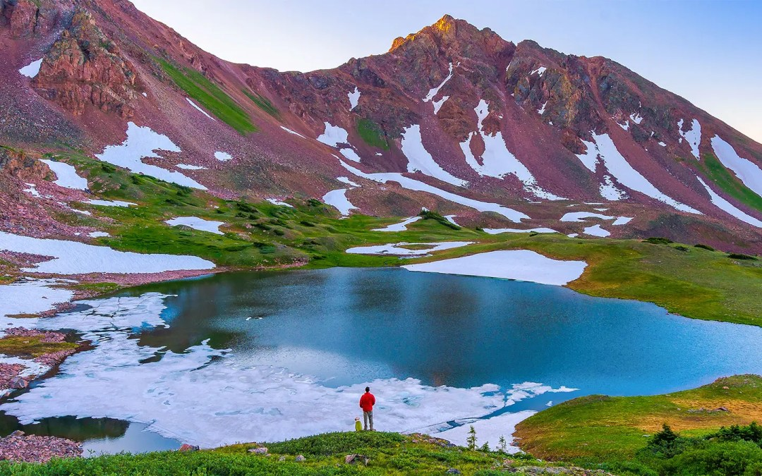 Backpacking Deluge Lake in the Gore Range of Vail