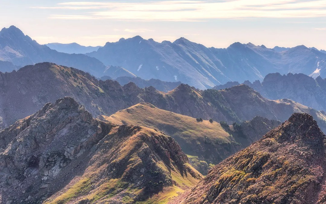 The Gore Range & My Summer of Vail