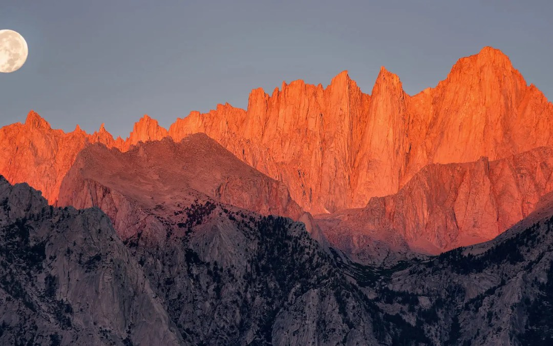 Mt Whitney: the Tallest Peak in the Lower US