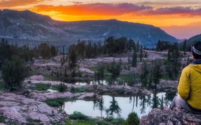 Teton Crest Trail, Day 2 – Fox Creek Pass to Alaska Basin