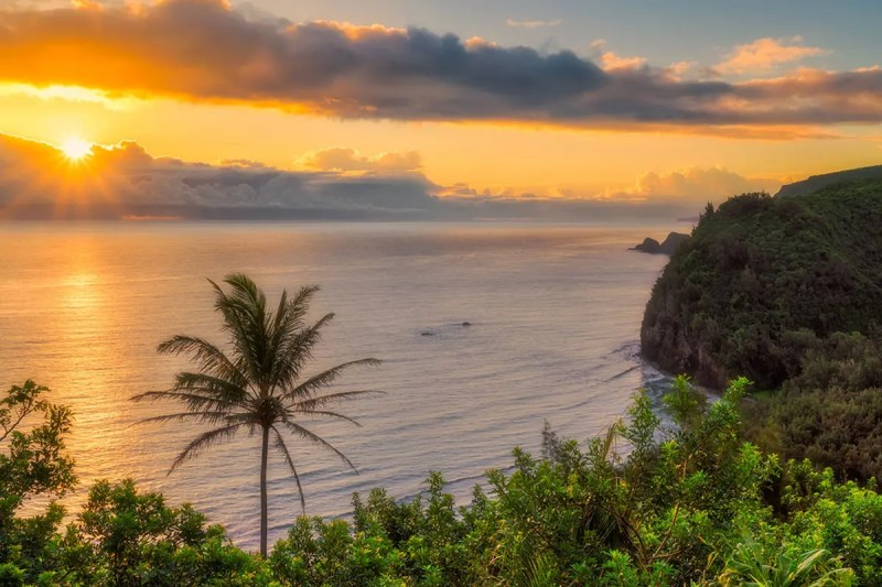 Big Island Sunrise Hawaii Fine Prints Wall Art