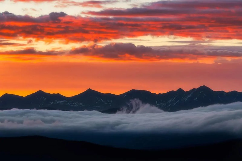 Above the Clouds Colorado