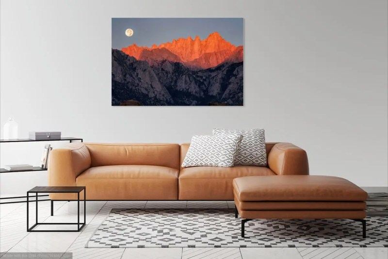 Mt Whitney California Fine Prints Wall Art