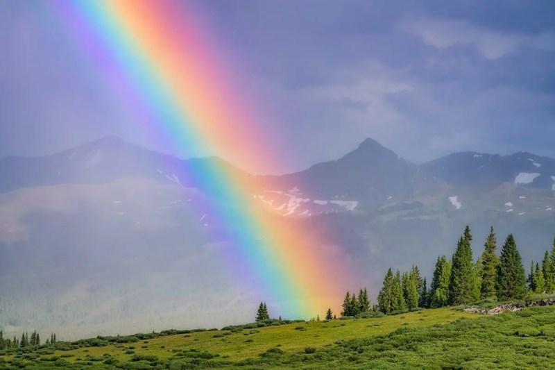 Pacific Peak Rainbow Colorado Wall Art Fine Prints