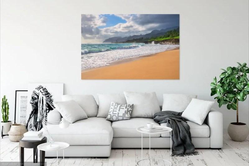 La'ie-Beach Oahu Hawaii Fine Prints Wall Art