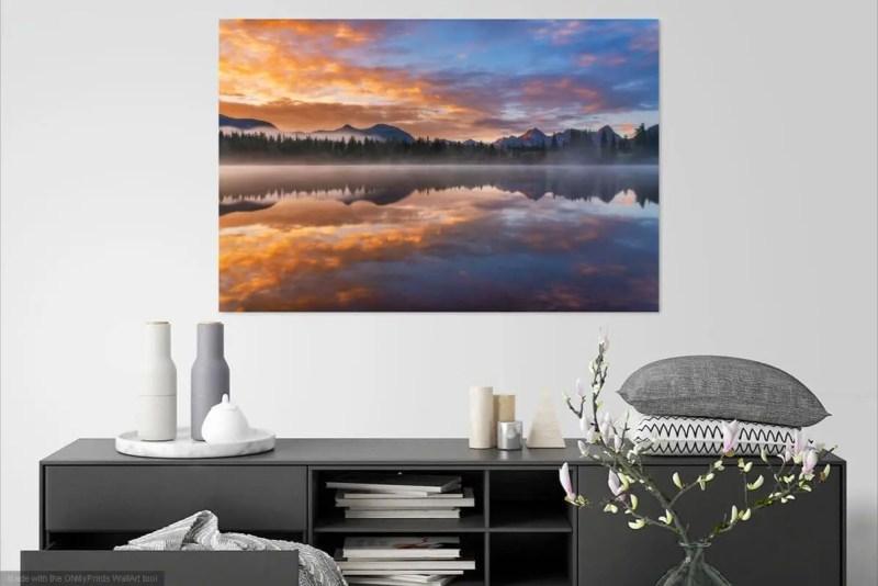 Molas Lake Sunrise Colorado Fine Prints Wall Art