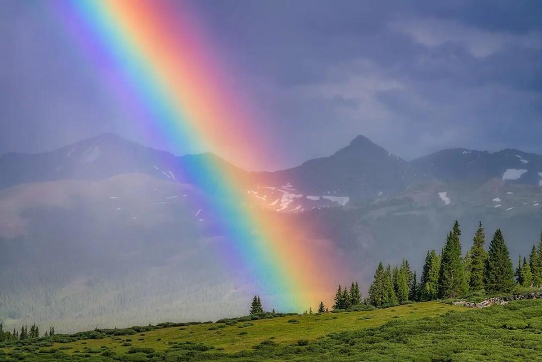 Rainbow Mosquito Range, Colorado