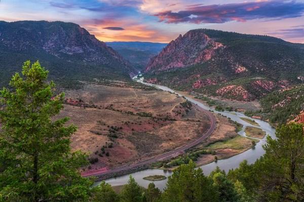 Red Gorge Colorado River Fine Prints Wall Art