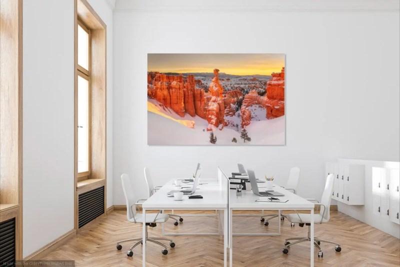 Thor's Hammer Sunrise Bryce Canyon National Park Utah Fine Prints Wall Art