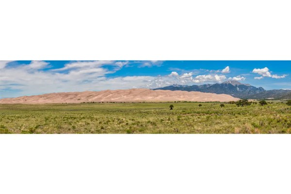 Great Sand Dunes National Park Colorado Panorama Shop Fine Prints Wall Art