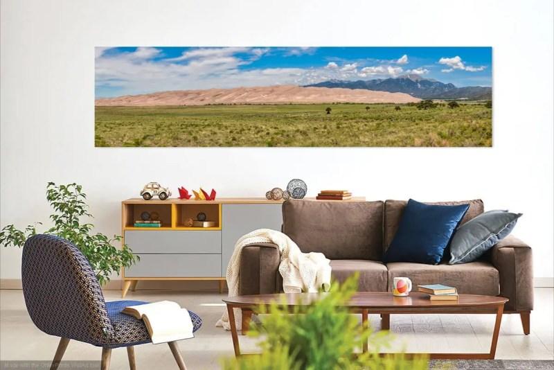 Great Sand Dunes National Park Colorado Panorama Shop Fine Prints Wall Art