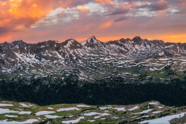 Sawatch Range Holy Cross Wilderness Colorado Fine Prints Wall Art
